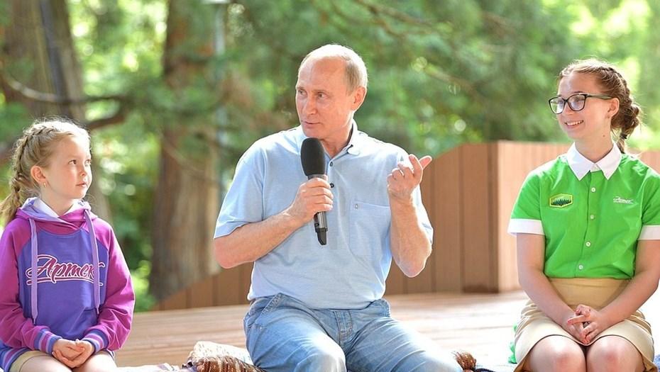 """""""Нюхаете, что ли, вы?"""": Артековцы рассказали Путину про поездки на винзавод в Массандру"""
