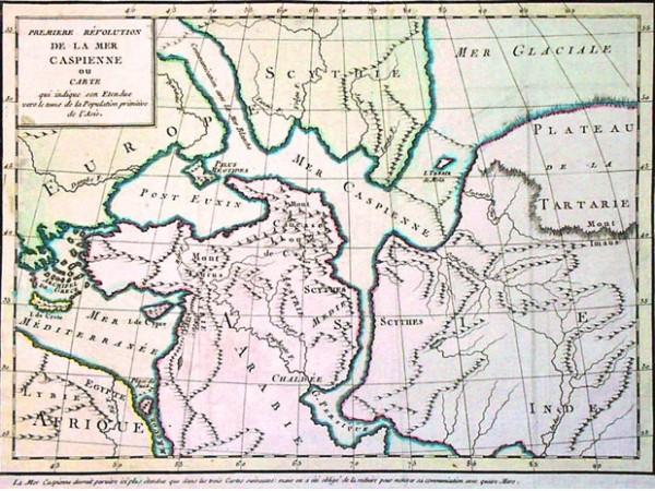 География Древней Руси. Русское море