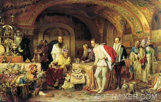 Иван Грозный в палатах
