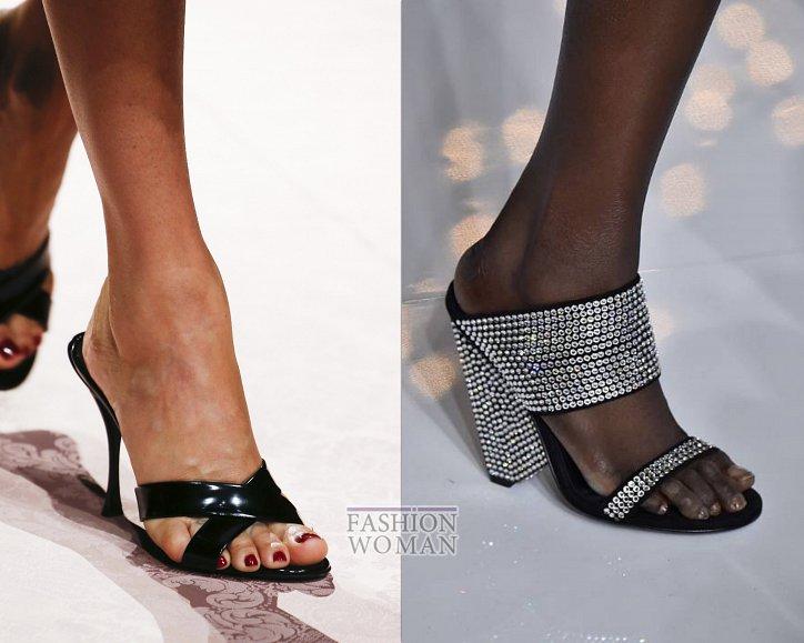 Модная обувь сезона: мюли фото №1