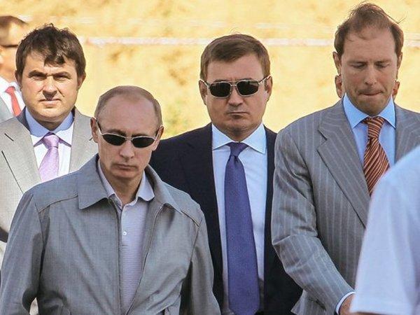 Как Путин устроил пятерых своих бывших охранников?