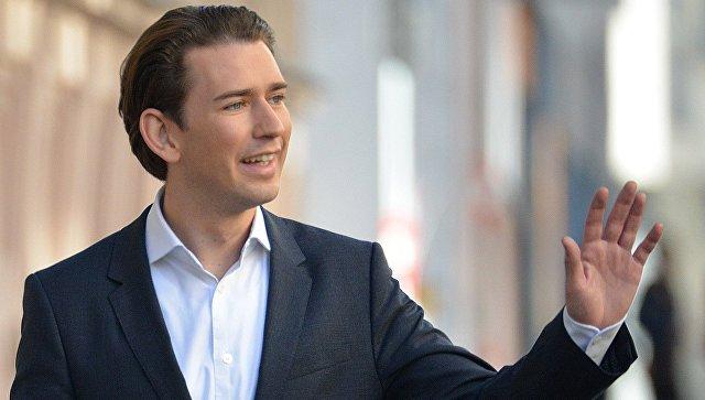 Канцлер Австрии поддержал идею поэтапной отмены антироссийских санкций