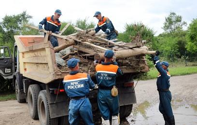 Тепловые пушки для просушки домов доставили в Приморье