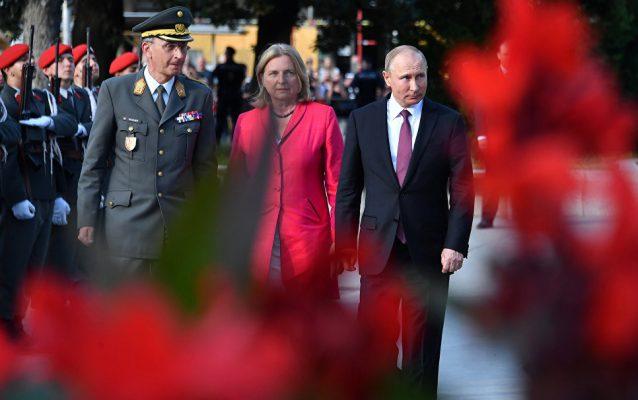 «Путин в центре внимания»: австрийская пресса взволнована визитом президента РФ на свадьбу в Граце