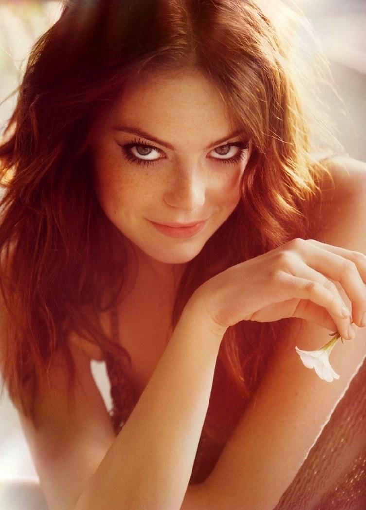 Красивые рыжеволосые девушки редкой красоты