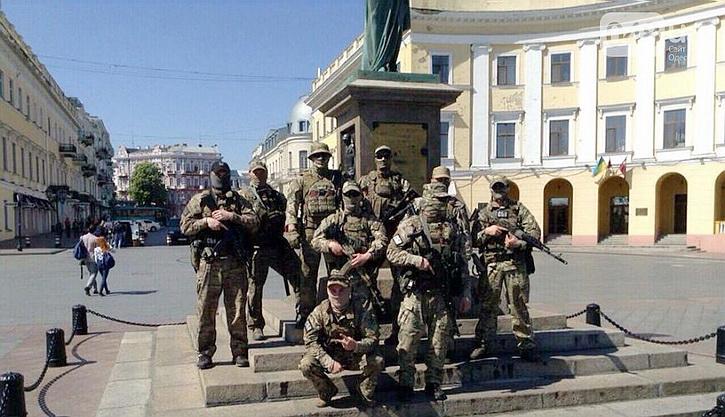 Большой шмон вместо праздника в уже маленькой Одессе