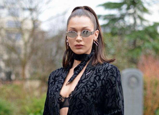 15 самых сексуальных нарядов модели Беллы Хадид