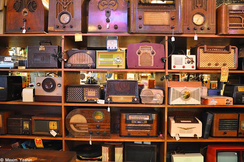 Antiques shops 6 Антикварные магазины в США