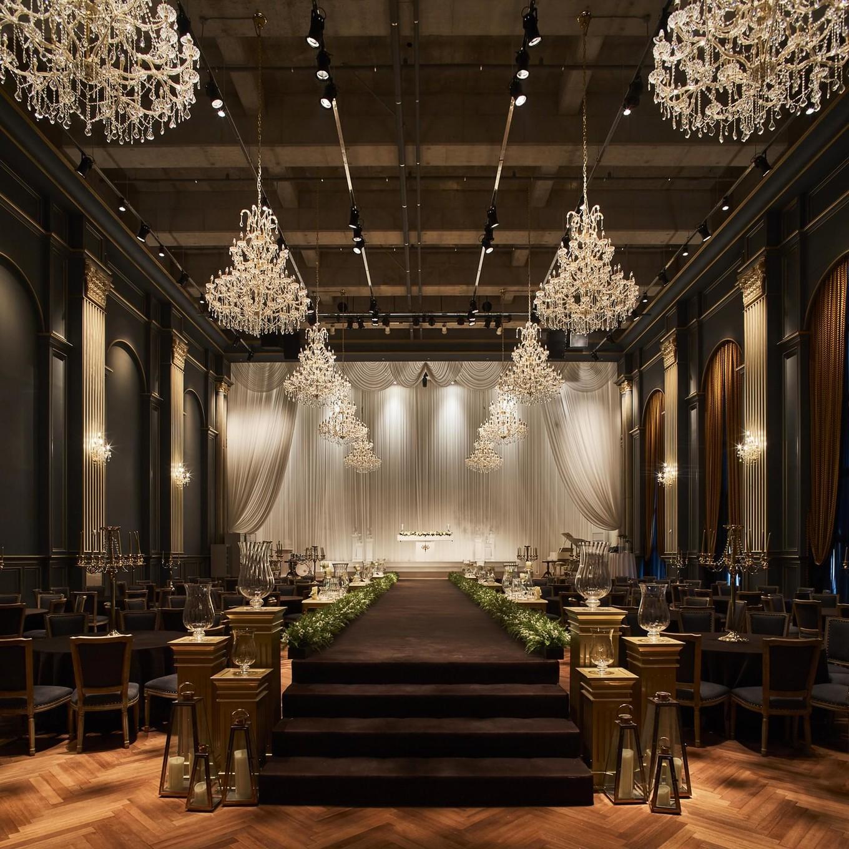 Пространство для свадебных церемоний в Южной Корее