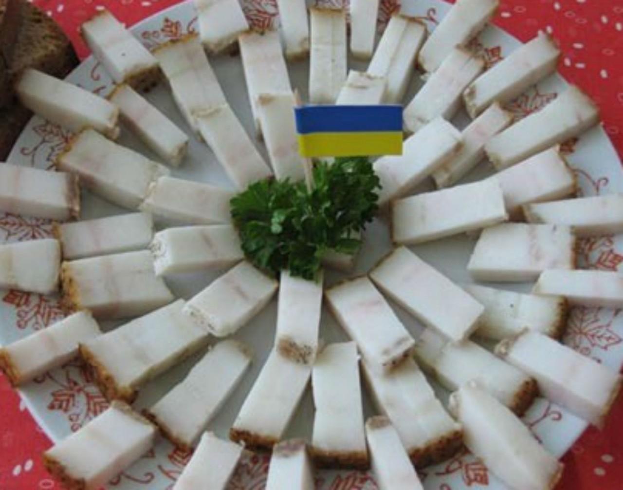 Украина проживет на сале