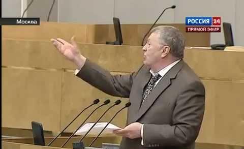 Жириновский предлагает захор…