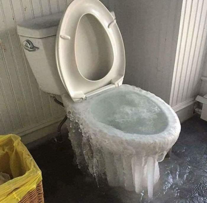 Самые суровые зимние фото, которые очень точно показывают, какой именно должна быть настоящая зима…