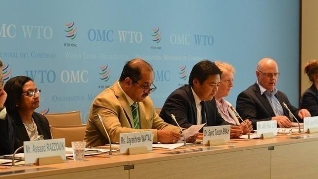 """Россия укажет на """"санкционное свинство"""" Евросоюзу в ВТО"""