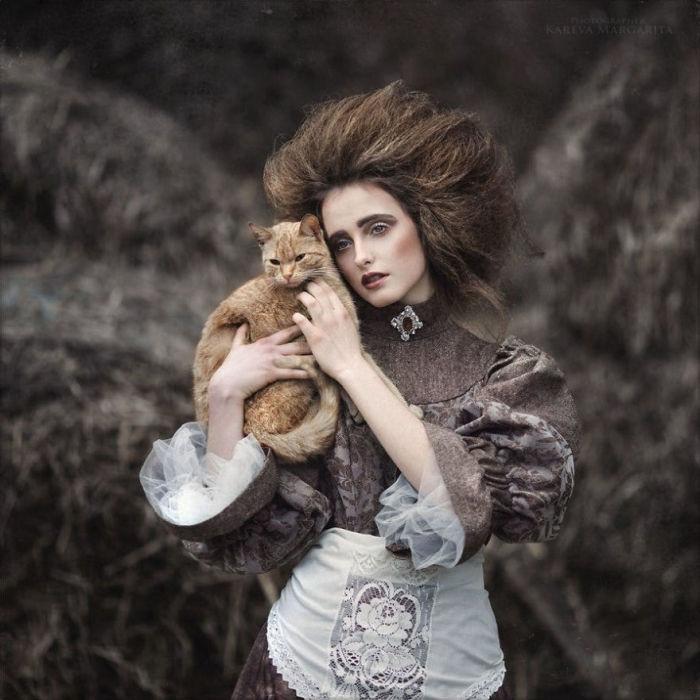 Образы, рождённые безудержной фантазией. Автор: Маргарита Карева.