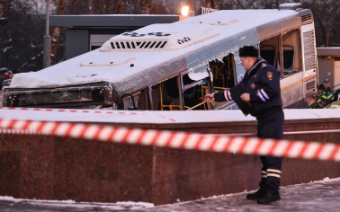 СК предъявил обвинение водителю въехавшего в подземный переход в Москве автобуса