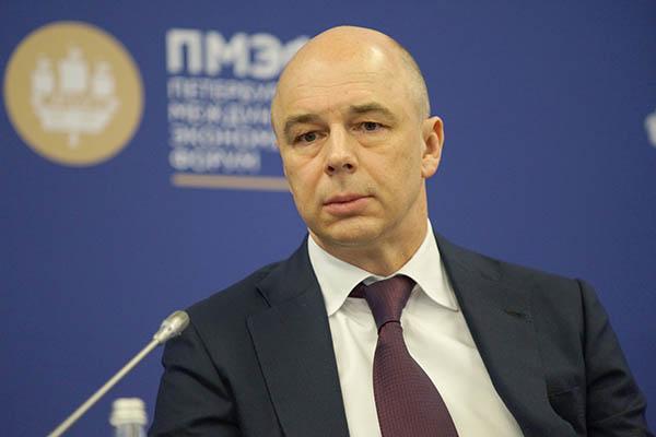 Силуанов: бюджет России готов к ужесточению санкций