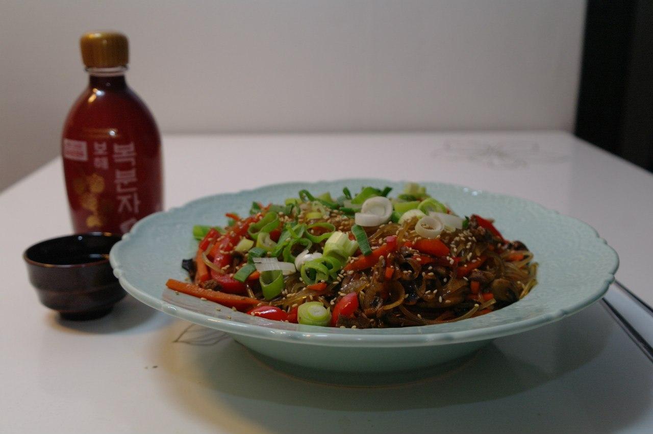 Чап Че. Корейская кухня
