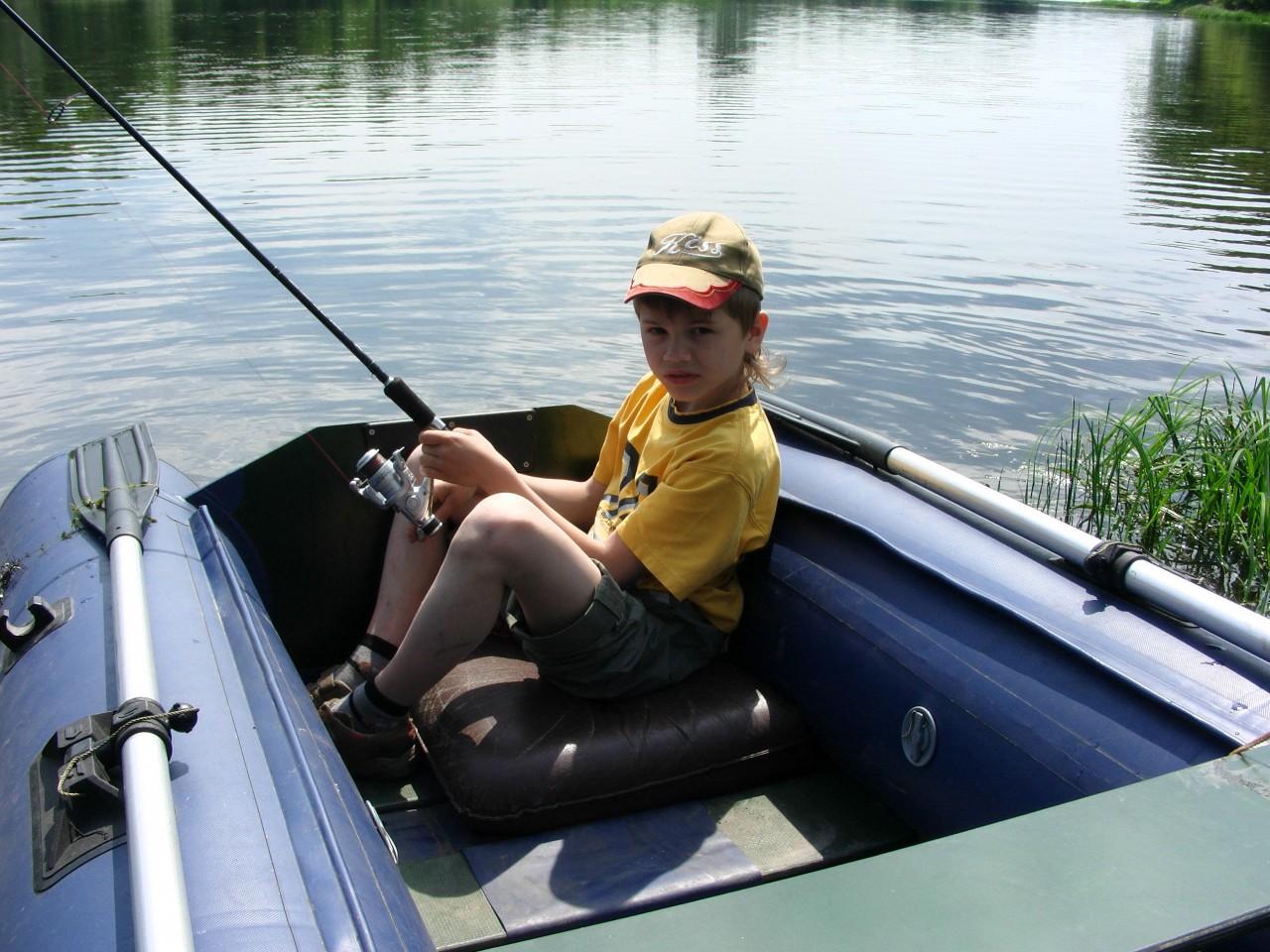Все о рыбалки с лодки пвх