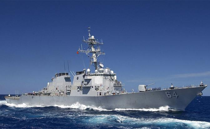 Эсминец USS Carney взял на мушку Севастополь