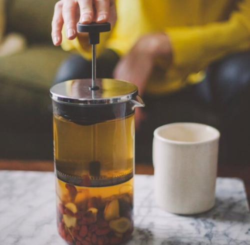 5 рецептов авторского осеннего чая.