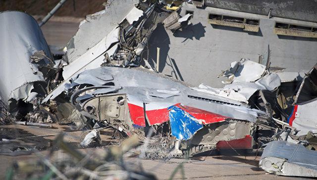 """""""Нарушение пространственной ориентировки"""": Минобороны назвало возможную причину катастрофы Ту-154 над Черным морем"""