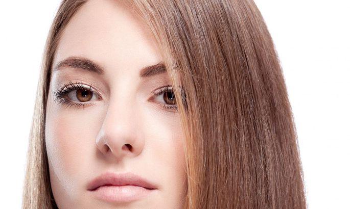 Как сделать волосы гладкими:…