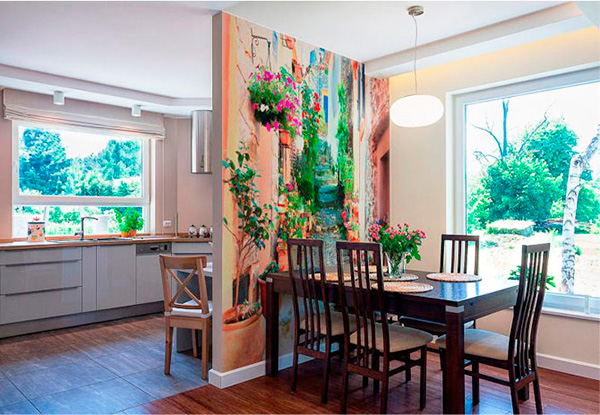 Роспись интерьера у себя дома