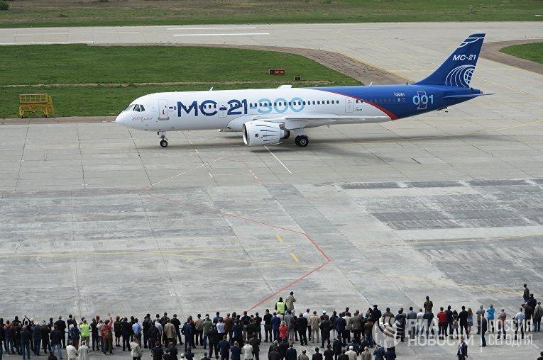 Поставки МС-21 начнутся в 2019 году