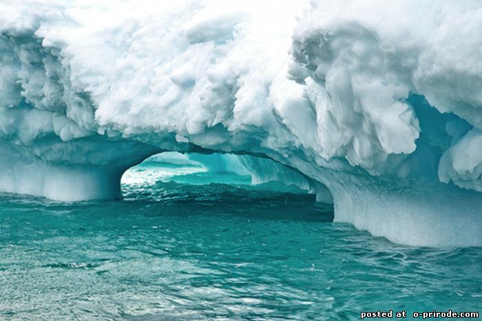 Безмолвная ледяная красота айсбергов Антарктиды – 10 фото