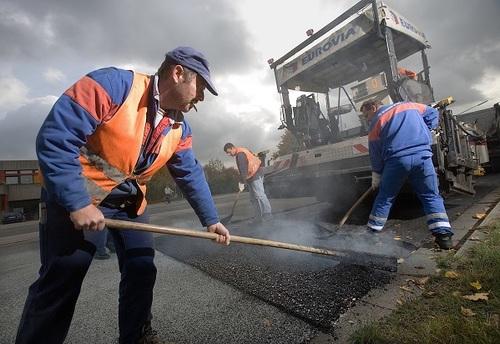 В регионе строятся новые дороги и ремонтируются старые