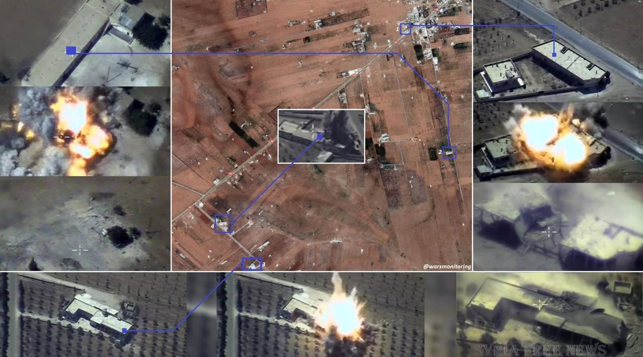 Новый удар крылатыми ракетами «Калибр» с кораблей ВМФ России