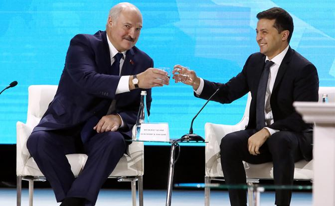 Союз с Россией Лукашенко гро…