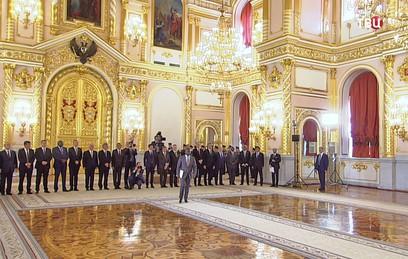 Путин принял верительные грамоты у послов 23 стран