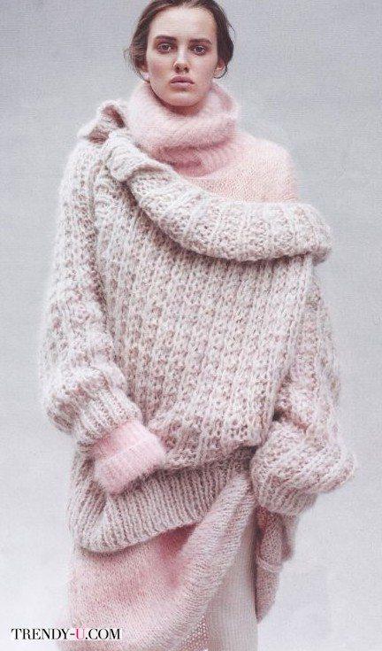 Уютные, как коты. 15 толстых свитеров для осени и зимы