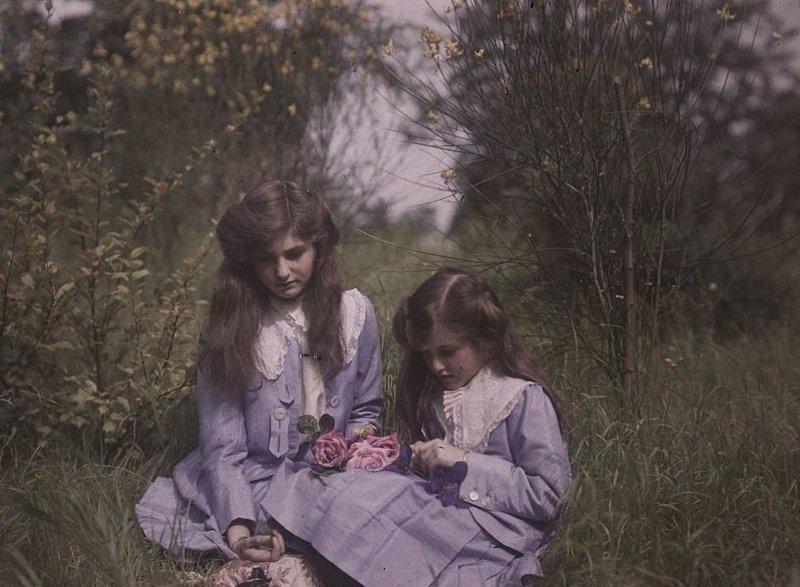 Вот какими были самые старые в мире цветные фотоснимки