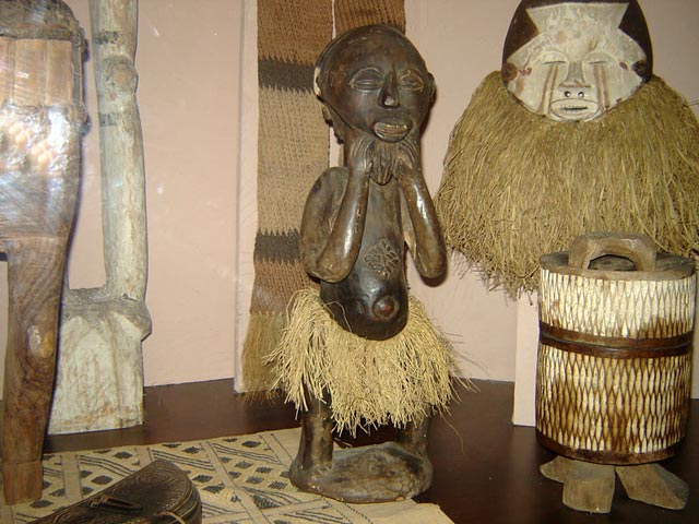 Скульптура тропической и южной Африки (краткая информация)