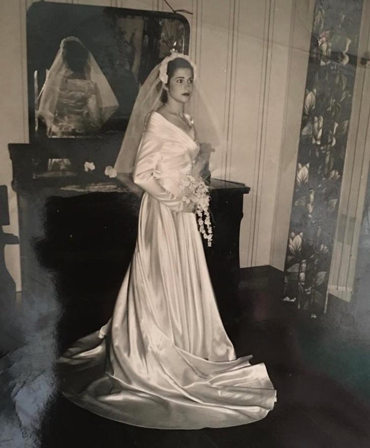 Пользователи сети делятся свадебными снимками своих бабушек. Их утонченные образы стоит взять на заметку