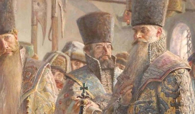Когда мужчины носили сарафан на Руси