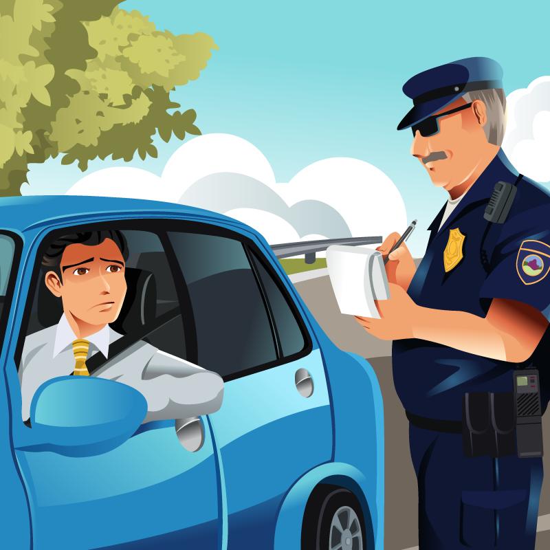 Анекдот про то, как мужика запревышение оштрафовали