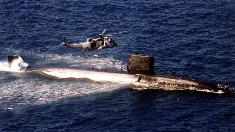 Великобритания отправила в Средиземное море атомную подлодку — «присмотреть» за Россией
