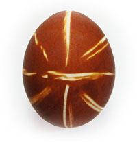 Полосатое Пасхальное яйцо