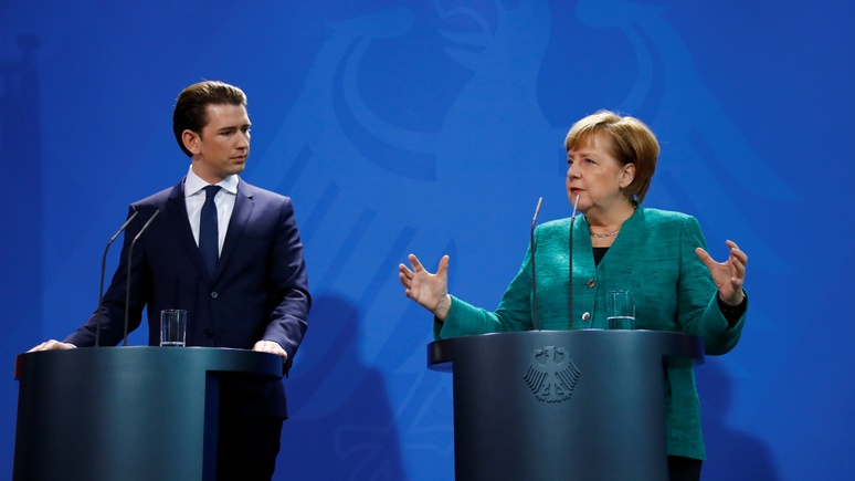 Меркель: близость Австрии с Россией угрожает сотрудничеству западных спецслужб