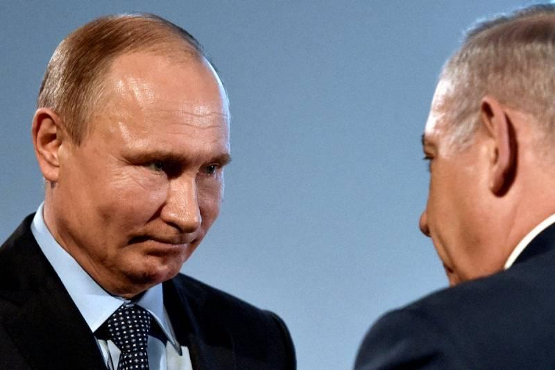 «Холодный душ» от Путина для Нетаньяху