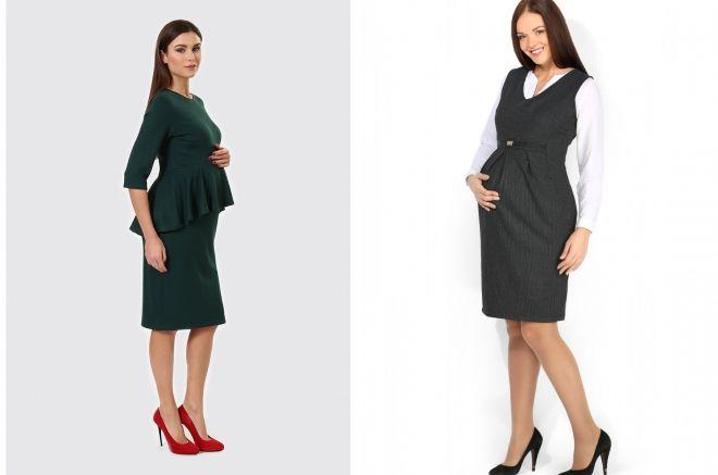 строгие платья для беременных