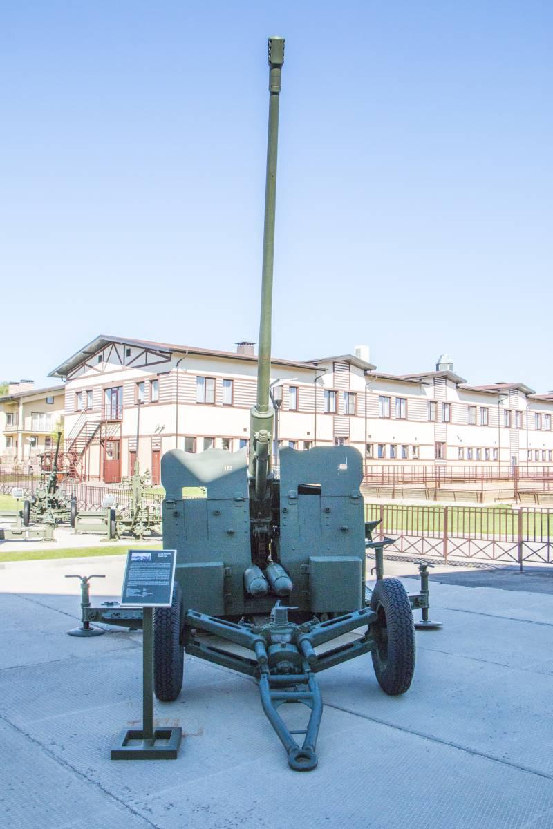 Рассказы об оружии. Зенитный артиллерийский комплекс С-60