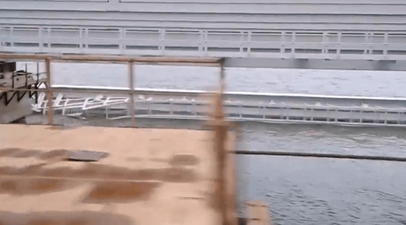 Обвал на Крымском мосту: инц…