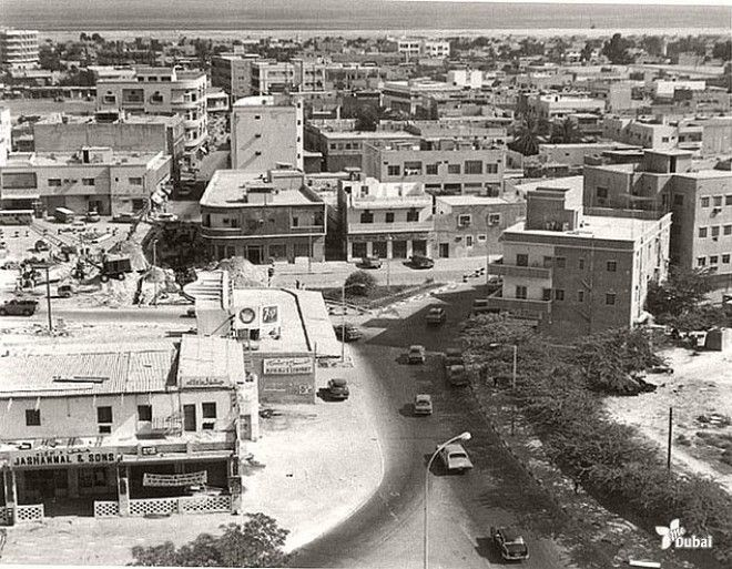 Первый магазин Jashanmal в Дубае, 1956