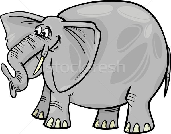 Слон сильный