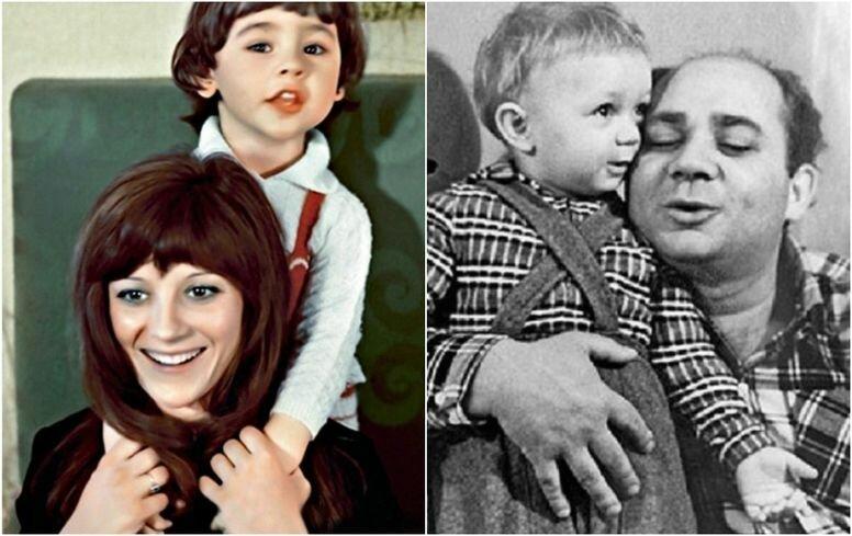 Легенды СССР в семейном кругу: редкие звездные фото из домашних архивов