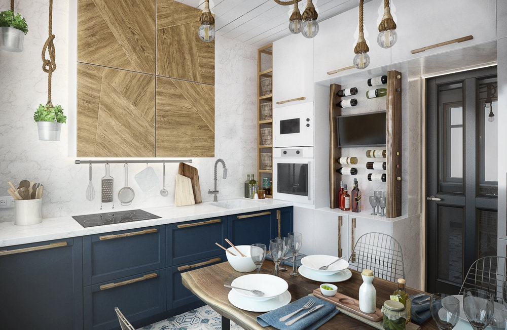 Как переделать захламленную кухню в уютное пространство